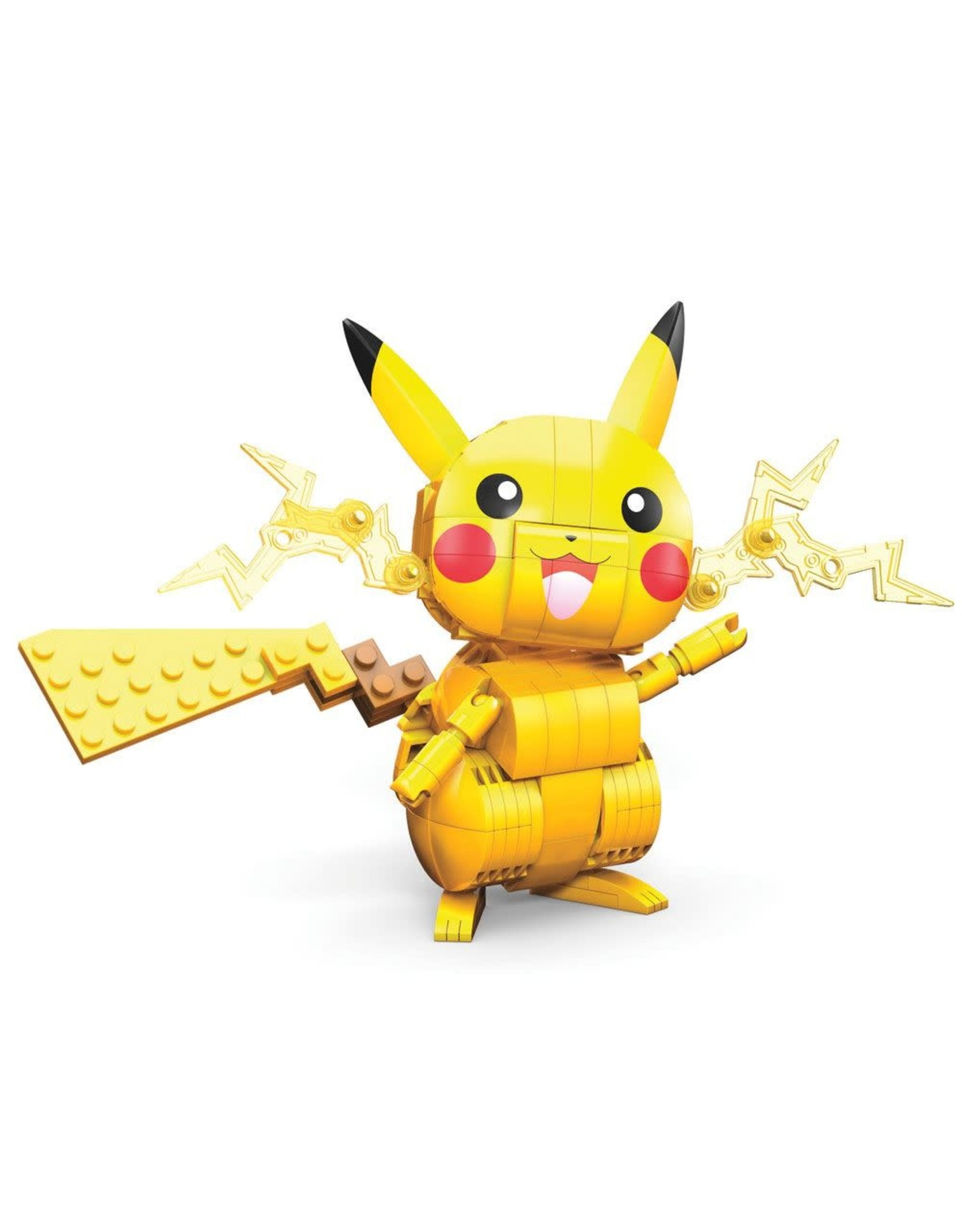 Pokémon - Pikachu - Mega Construx Wonder Builders Construction Set - 10 cm
