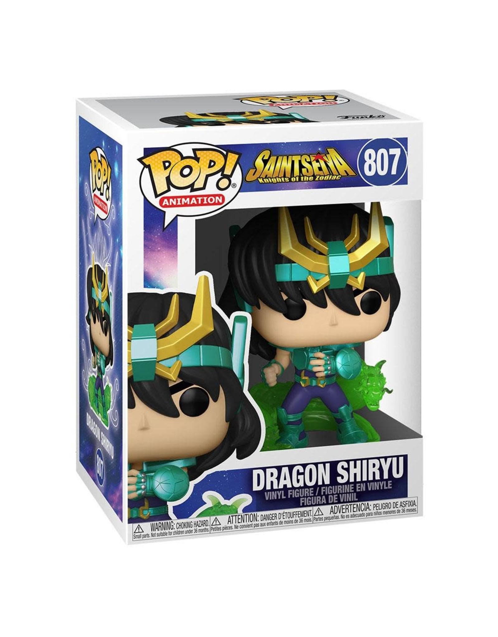 Saint Seiya - Dragon Shiryu - Funko Pop! Animation 807