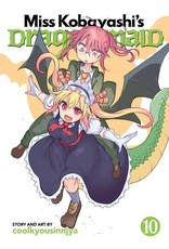 Miss Kobayashi's Dragon Maid 10 (Engelstalig)