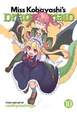 Miss Kobayashi's Dragon Maid 10 (English)