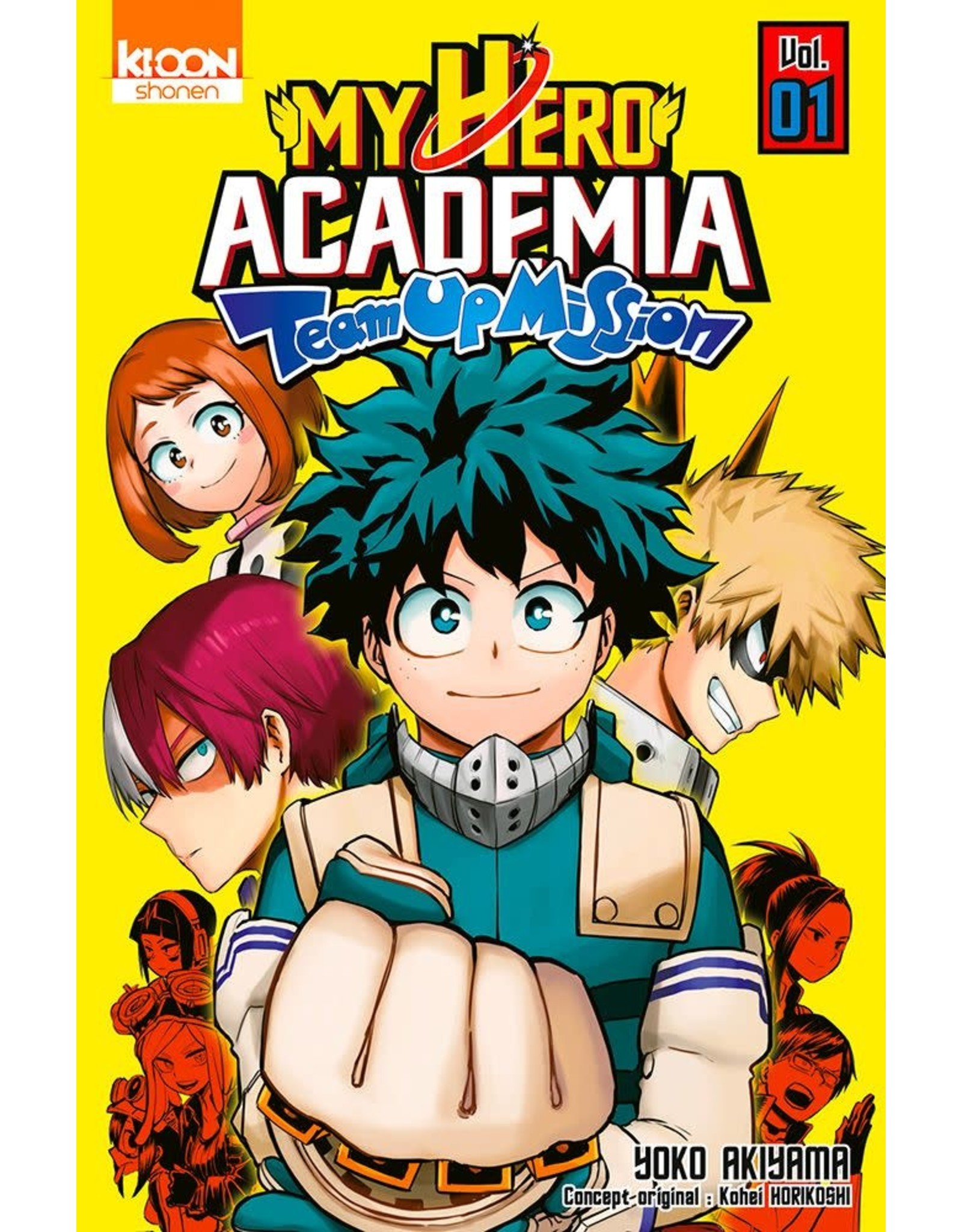 My Hero Academia: Team-Up Missions 1 (Engels)