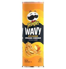 Pringles Wavy Applewood Smoked Cheddar - 137g