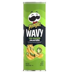 Pringles Wavy Fire Roasted Jalapeño - 137g