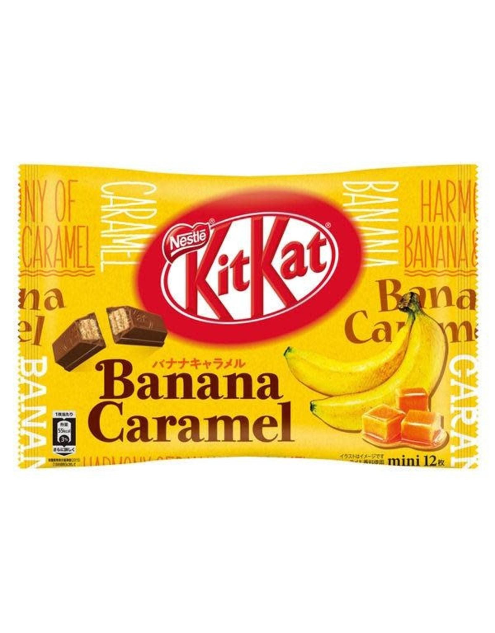 KitKat Mini Banana Caramel