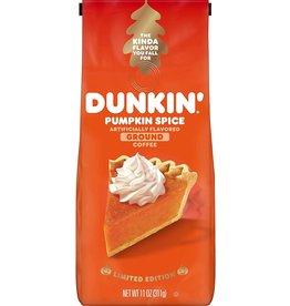 Dunkin Donuts Pumpkin Spice Ground Coffee - 311g