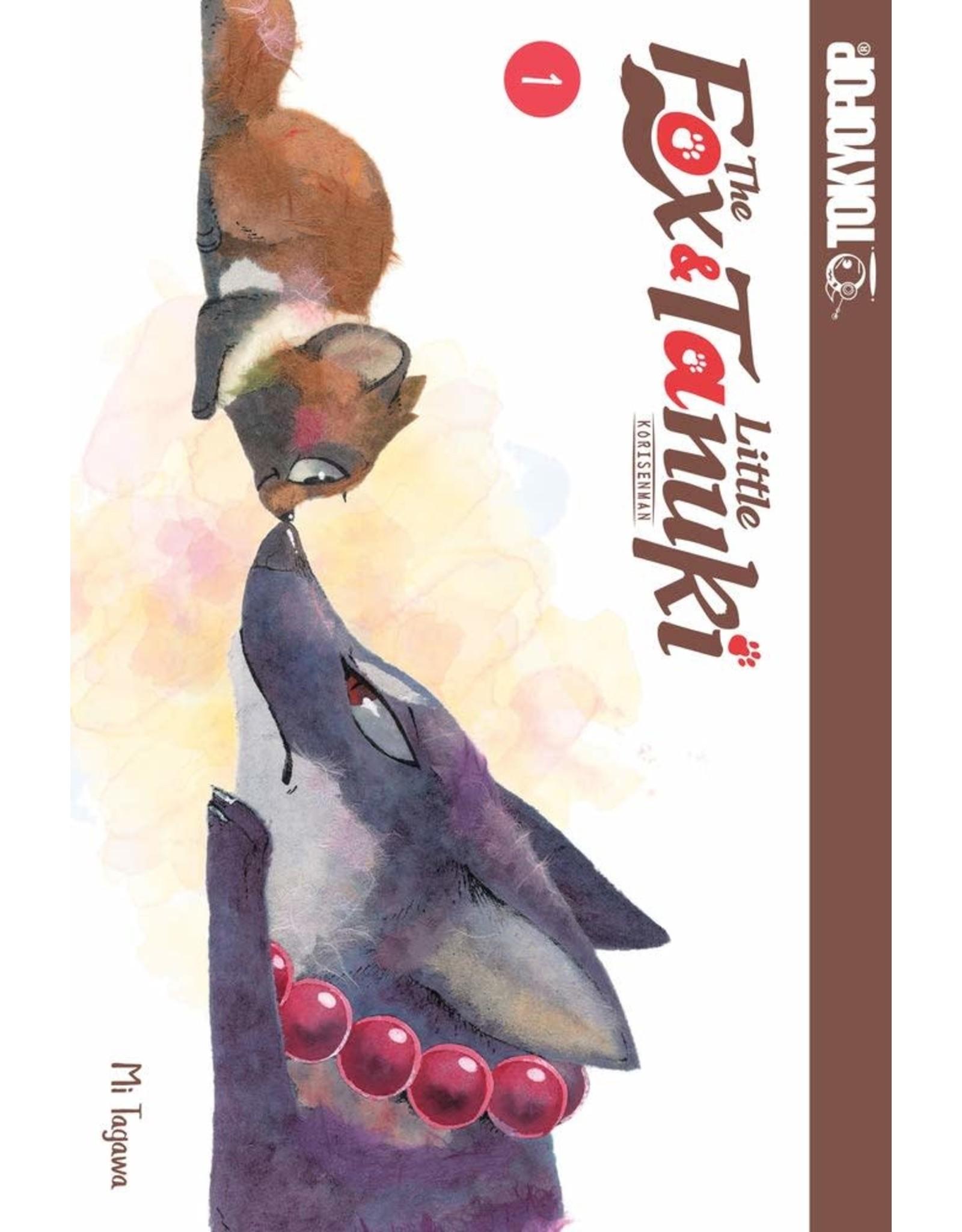 The Fox & Little Tanuki 1 (Engelstalig)