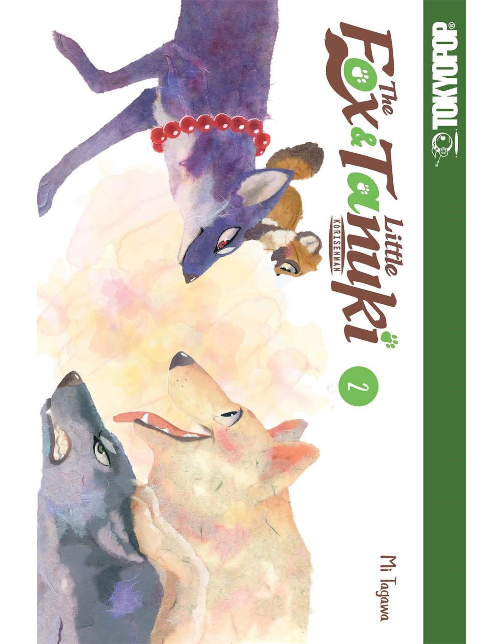 The Fox & Little Tanuki 2 (Engelstalig)