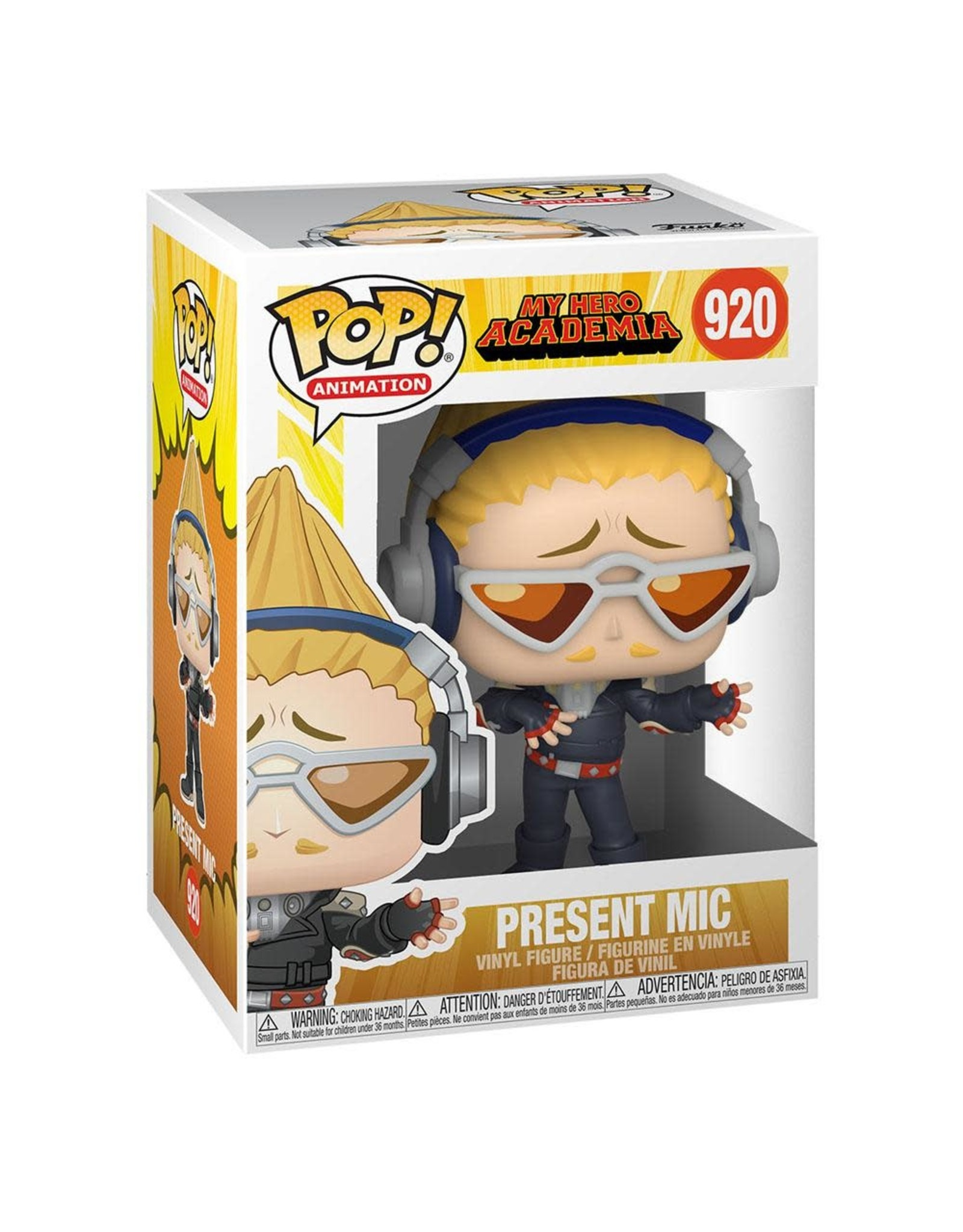My Hero Academia - Present Mic - Funko Pop! Animation 920