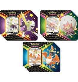 Pokemon Trading Card Game - Shining Fates 2021 Tin - Boltund V or Cramorant V or Eldegoss V