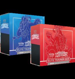 Pokemon Trading Card Game - Sword & Shield: Battle Styles - Elite Trainer Box - Rapid Strike or Single Strike