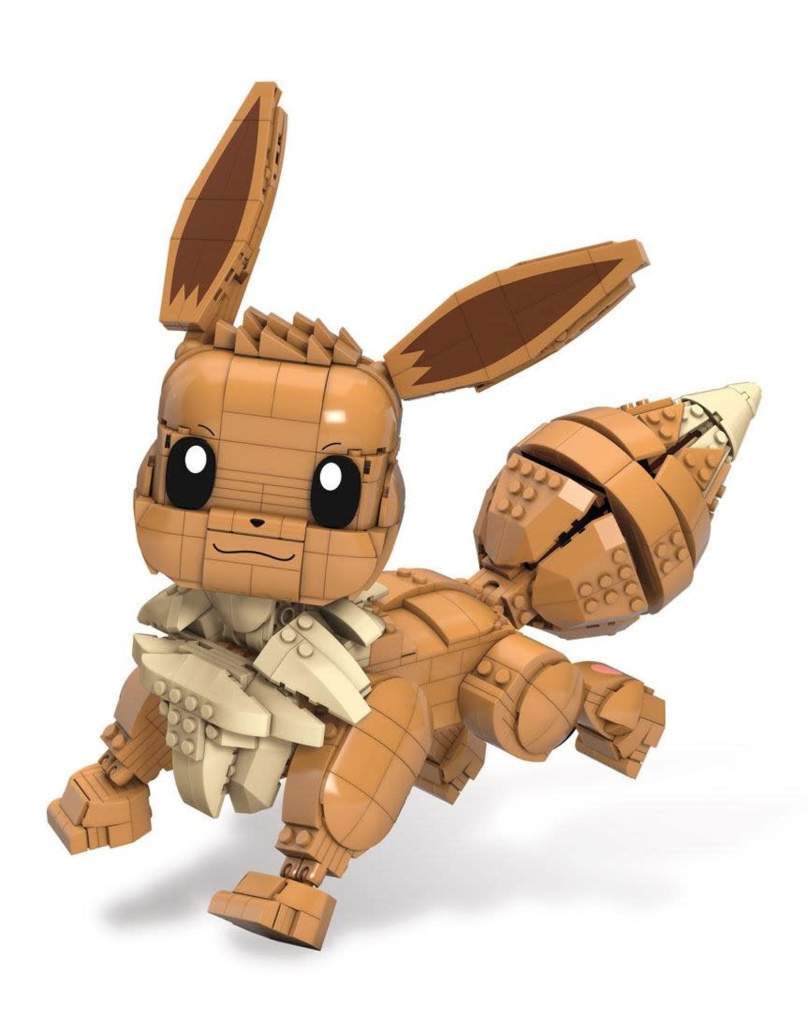 Pokémon - Jumbo Eevee - Mega Construx Wonder Builders Construction Set - 33 cm