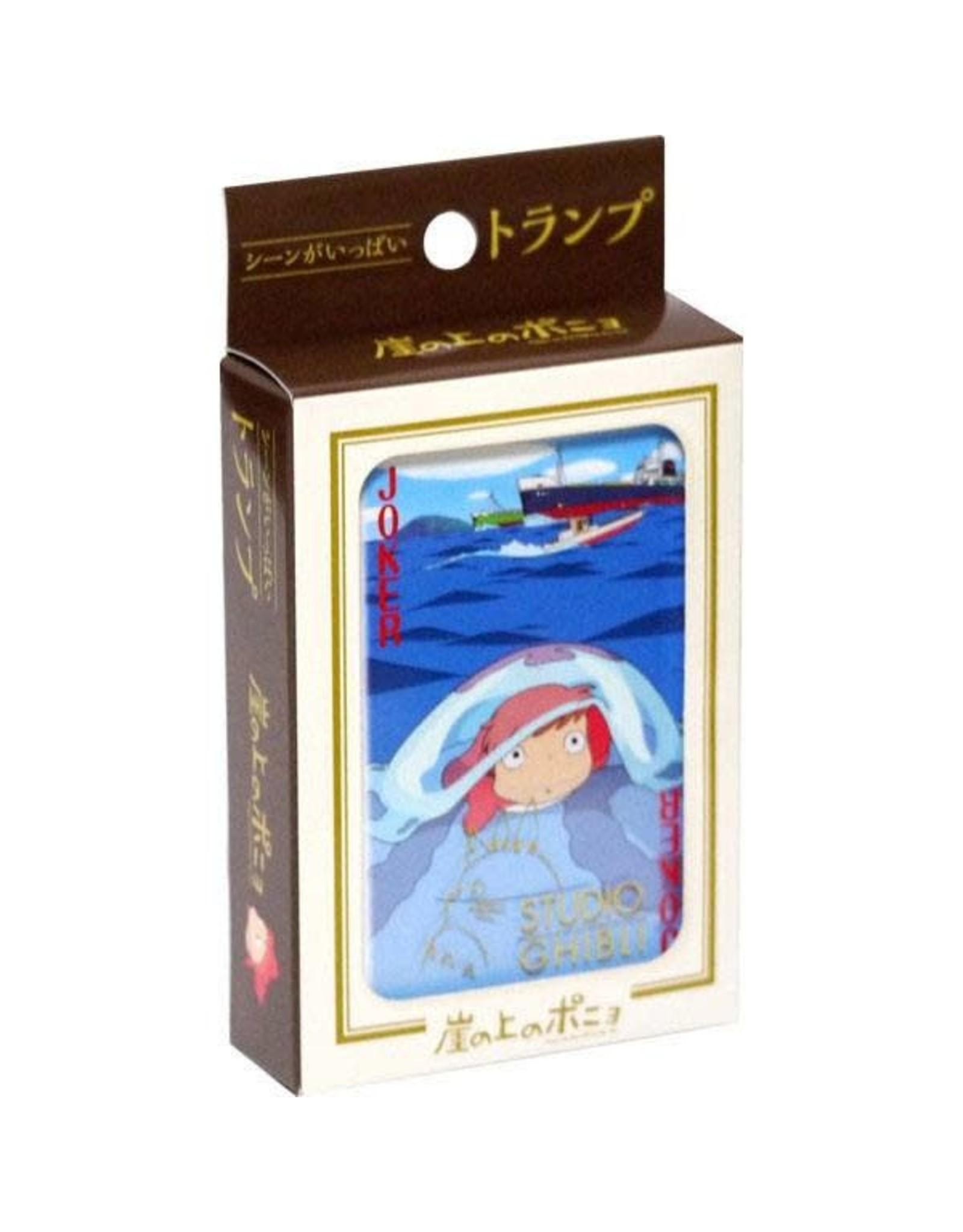 Ponyo - Studio Ghibli Playing Cards (Japanese import)