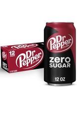 Dr. Pepper Zero Sugar - 355ml