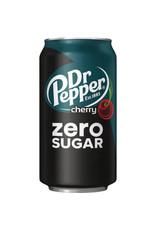 Dr. Pepper Zero Sugar Cherry - 355ml