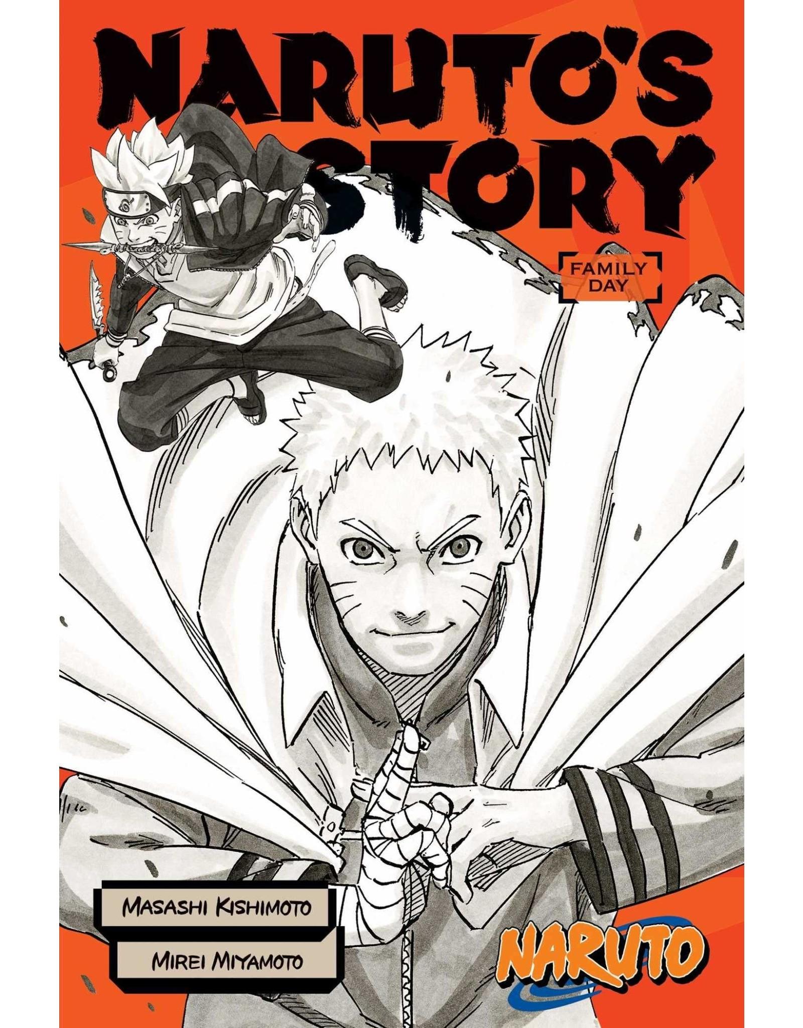 Naruto: Naruto's Story: Family Day (English) - Light Novel
