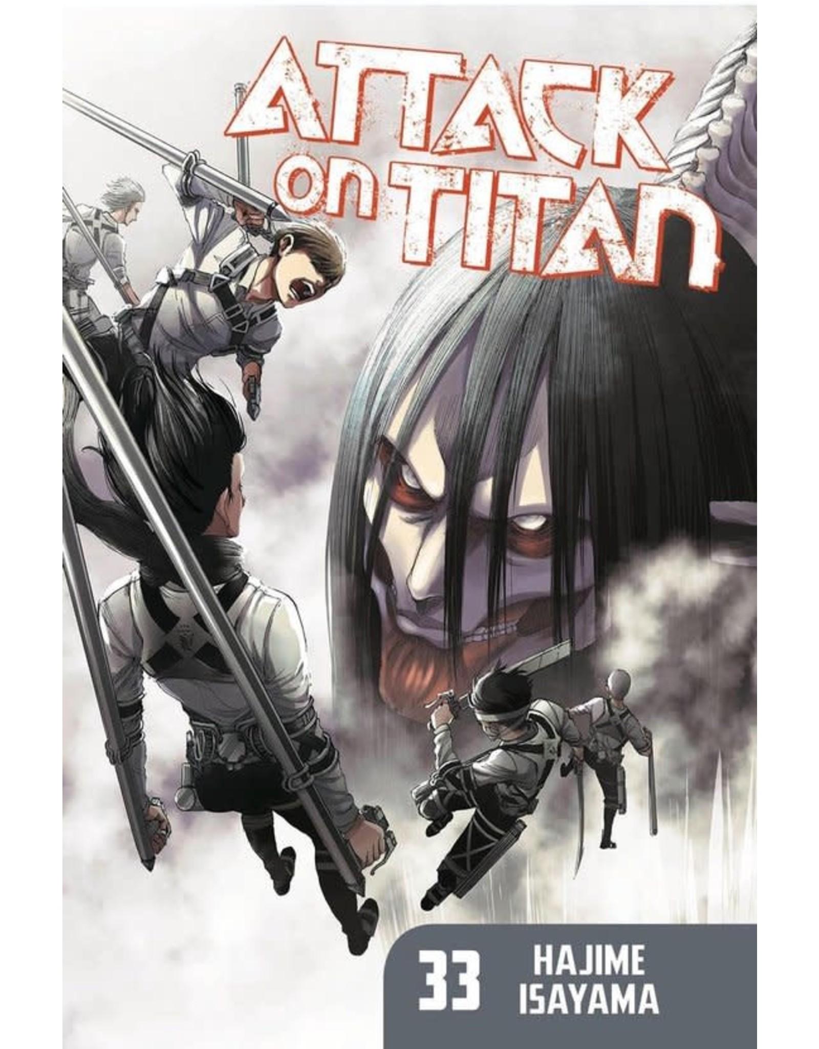 Attack on Titan 33 (English) - Manga