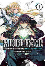 Failure Frame - I Became The Strongest and Annihilated Everything With Low-Level Spells 1 (English) - Manga
