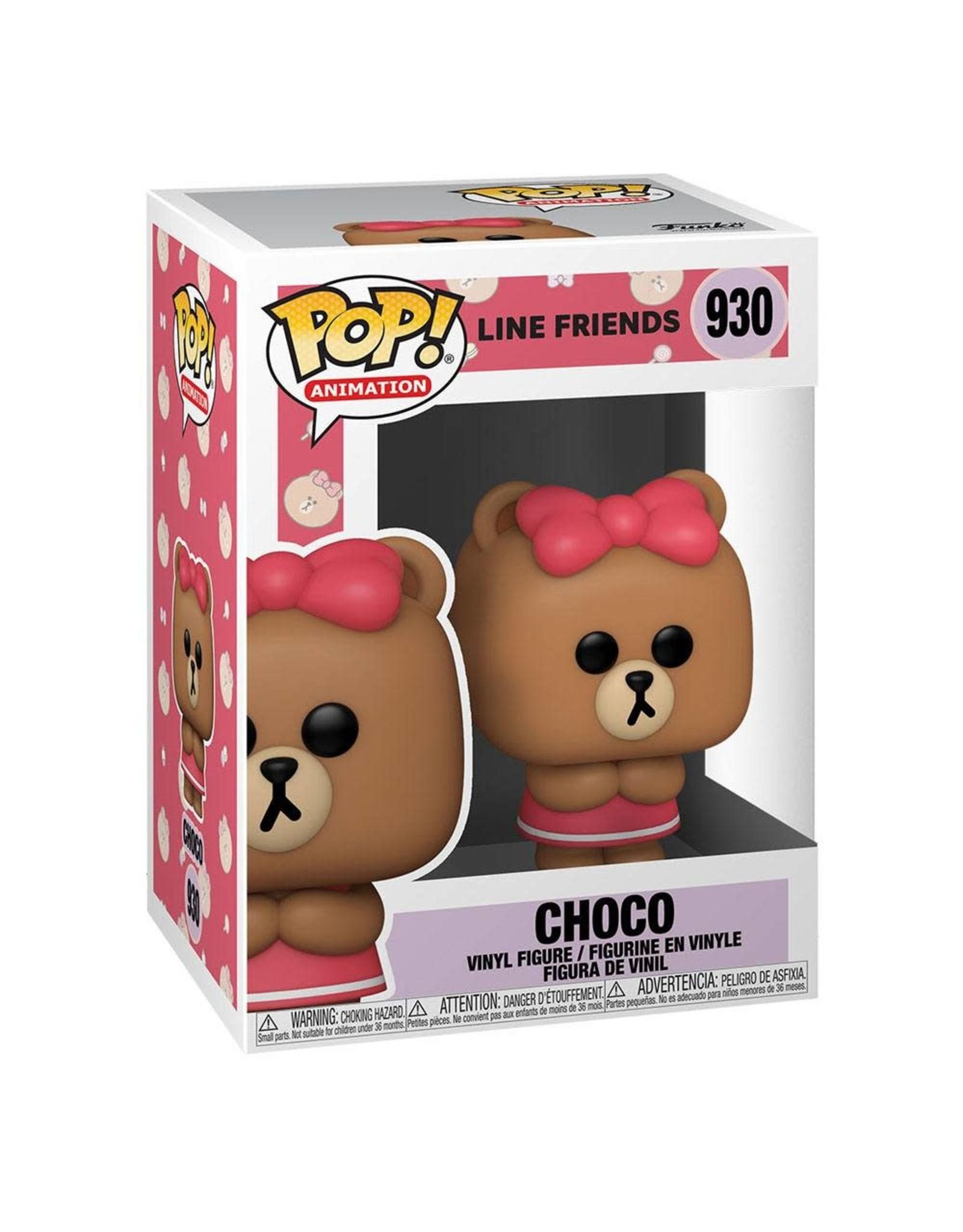 Line Friends - Funko Pop! Animation 930 - Choco