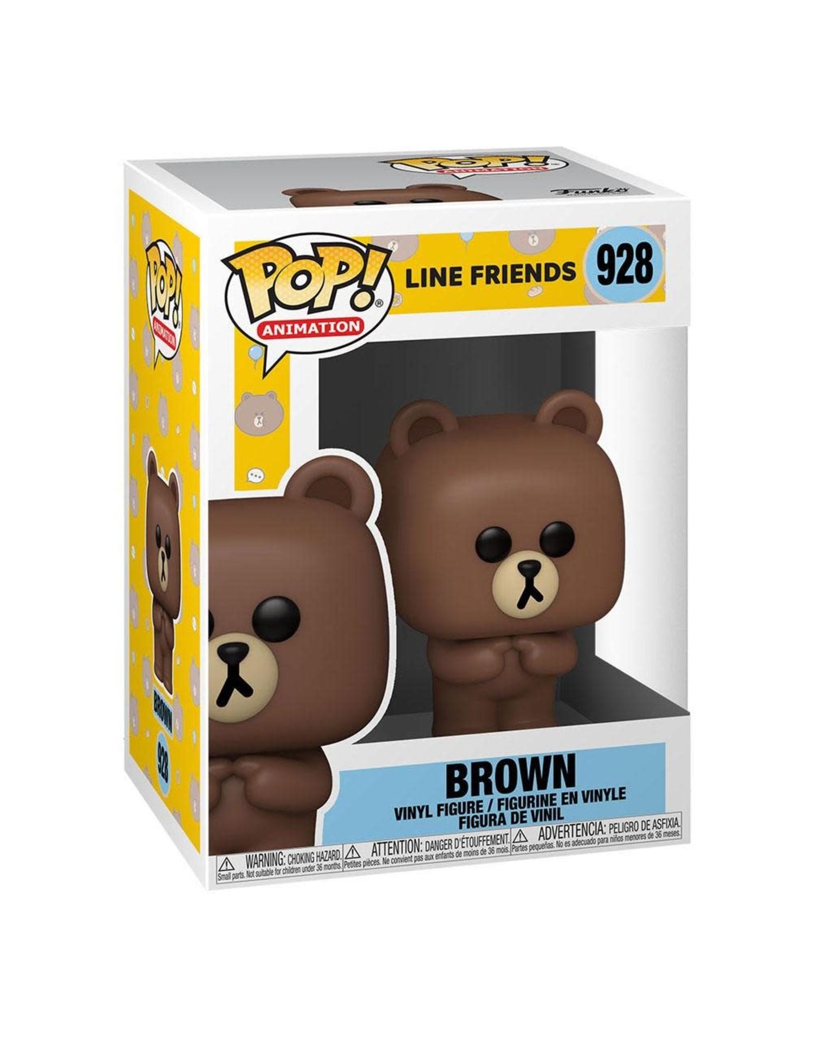 Line Friends - Funko Pop! Animation 928 - Brown