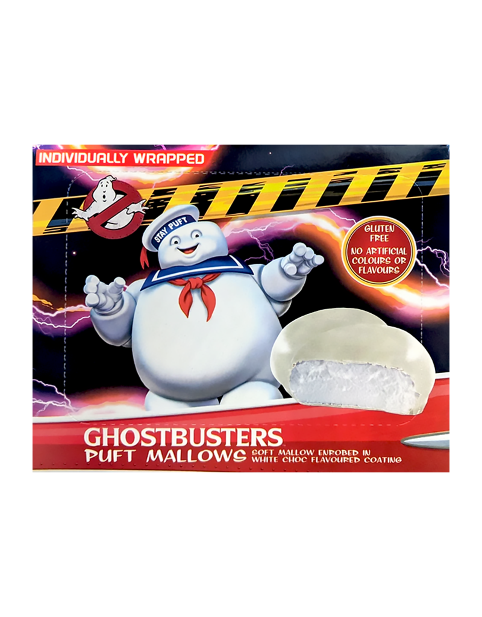 Ghostbusters Puft Mallows - Gluten Free - Individually Wrapped - 110g