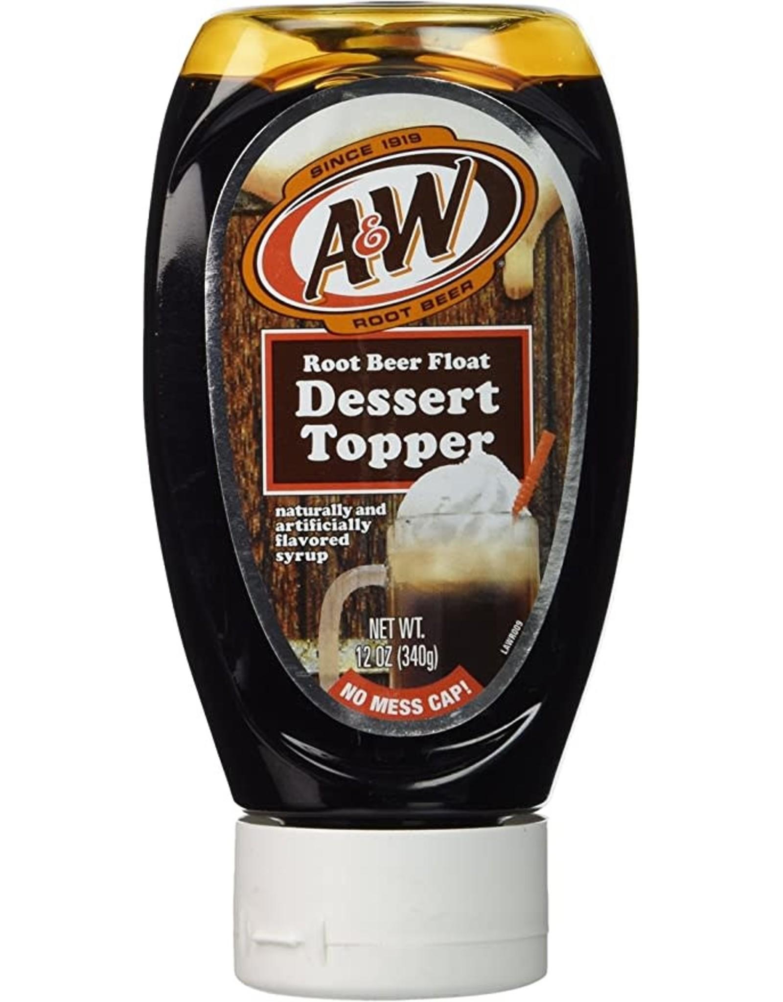 A & W Root Beer Float Dessert Topper - 340 g
