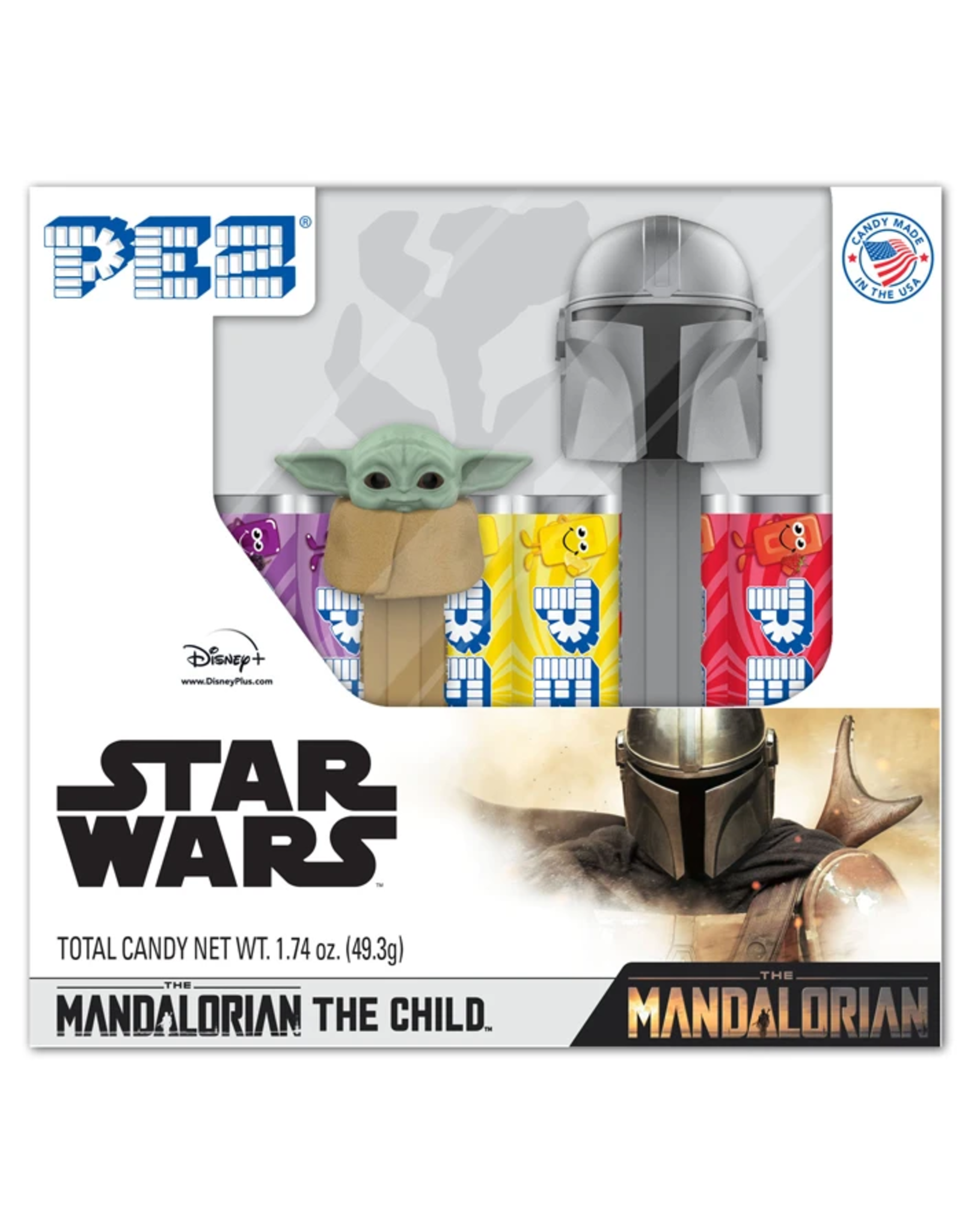 Pez The Mandalorian & The Child Gift Set Twin Pack