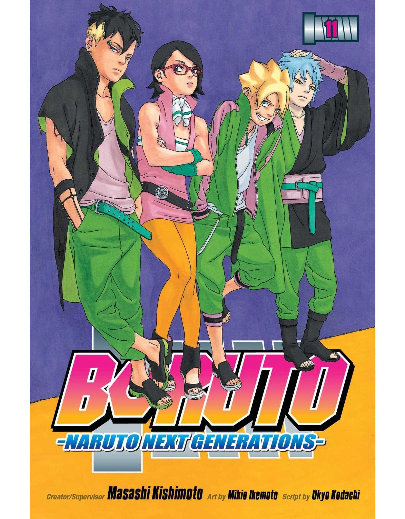 Boruto 11 (English) - Manga