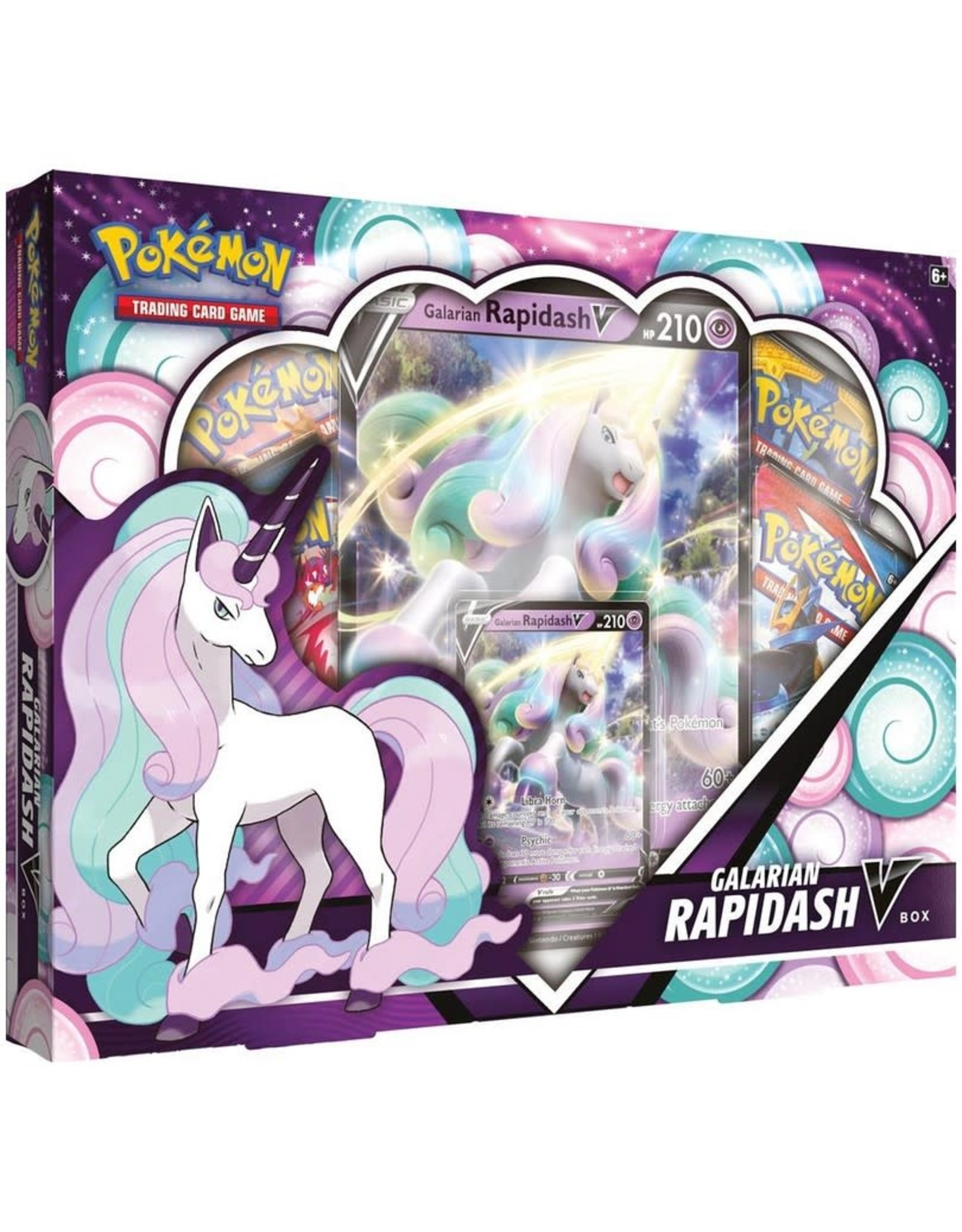 Pokemon Trading Card Game - Galarian Rapidash V Box