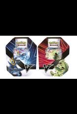 Pokemon Trading Card Game - Summer V Tin 2021 - Tyranitar or Empoleon