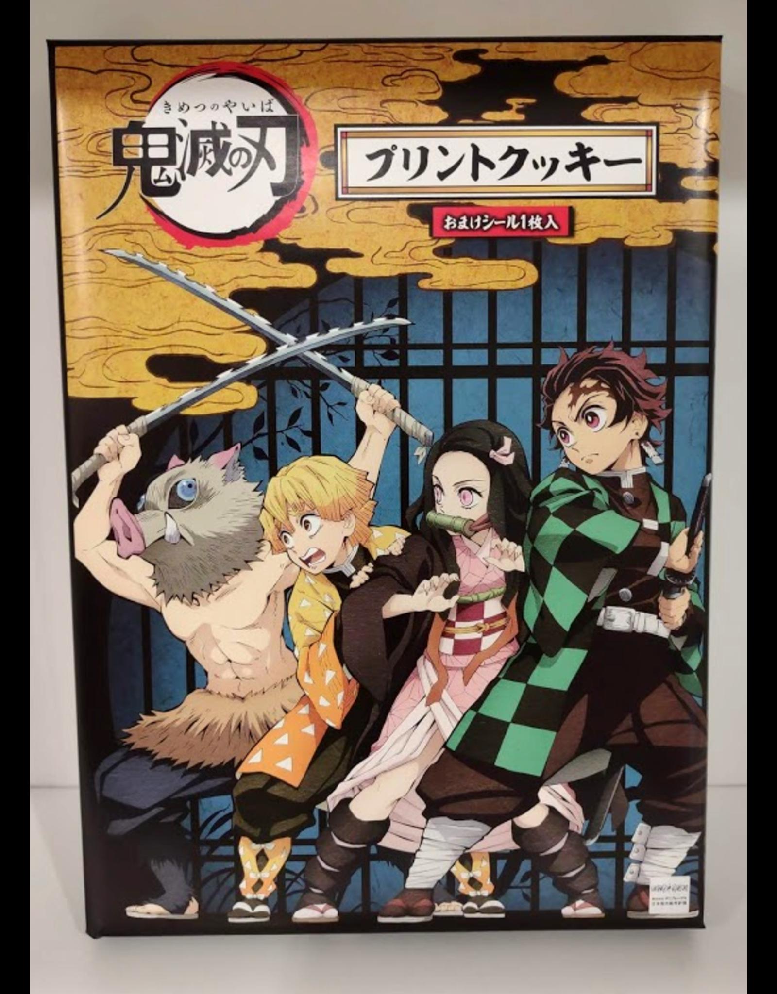 Demon Slayer: Kimetsu no Yaiba - 4 Character Sand Cookies Gift Box - 216 g