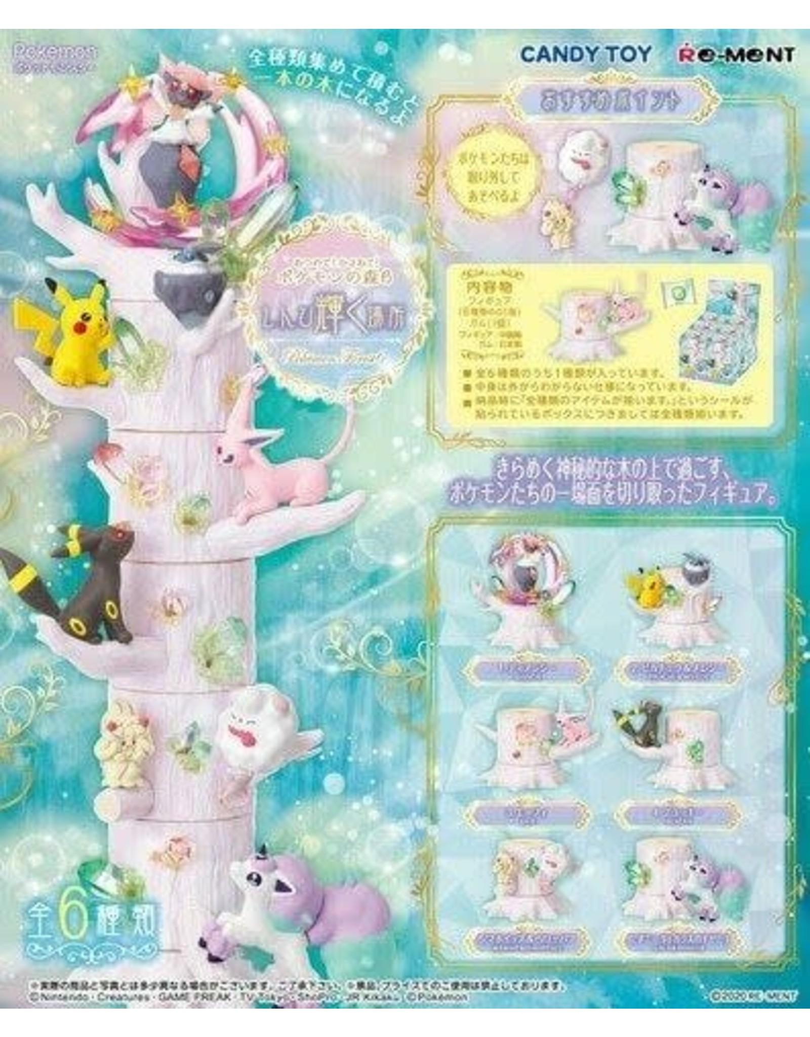 Re-Ment - Pokémon - Pokémon Forest 6 - Volledige set van 6