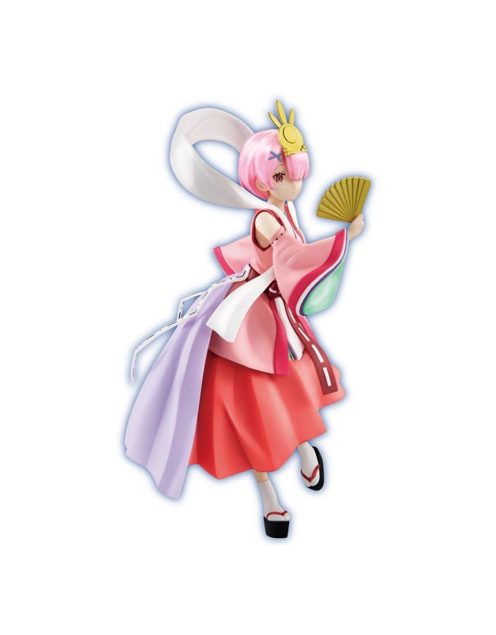 Re:ZERO - SSS PVC Figure - Fairy Tale Ram Princess Kaguya Pearl Color Version - 21 cm