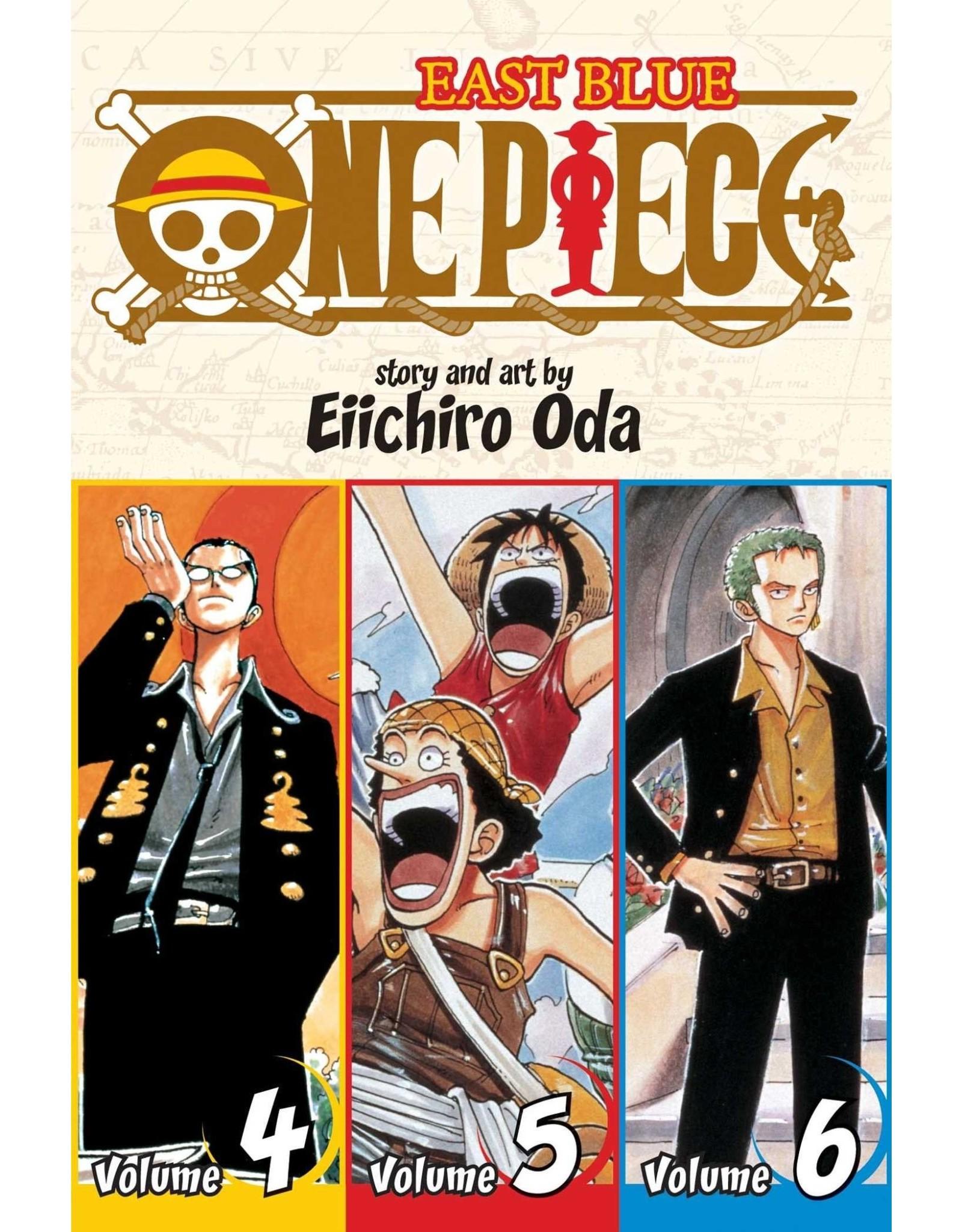 One Piece East Blue Volumes 4-5-6 (English) - Manga