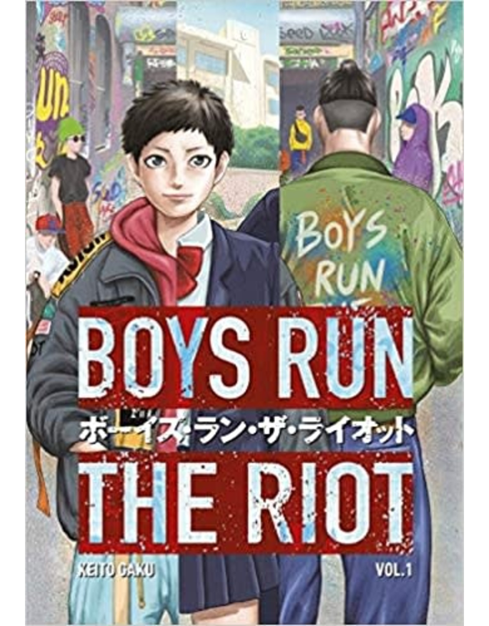 Boys Run The Riot (English) - Manga