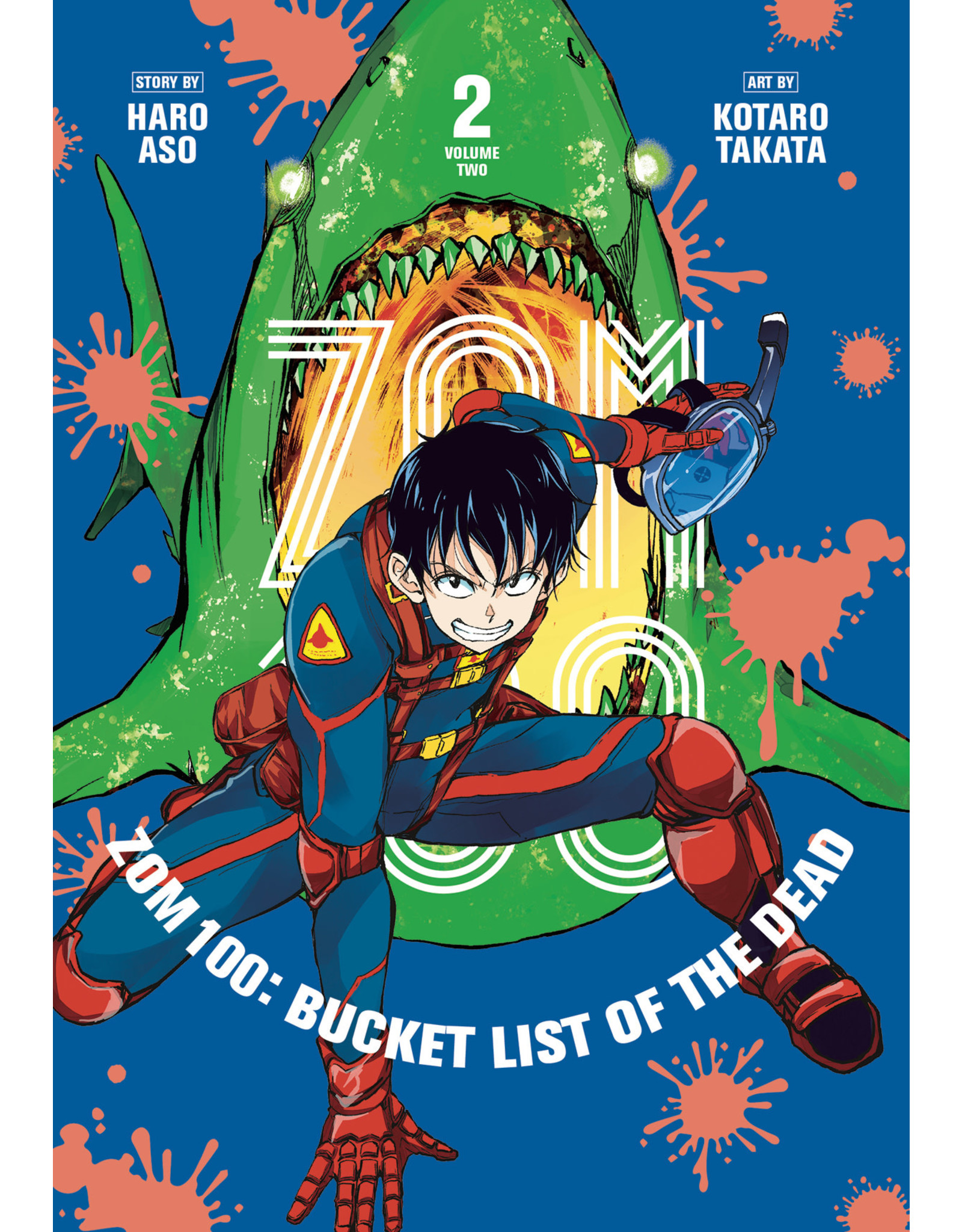 Zom 100: Bucket List Of The Dead 2 (English) - Manga