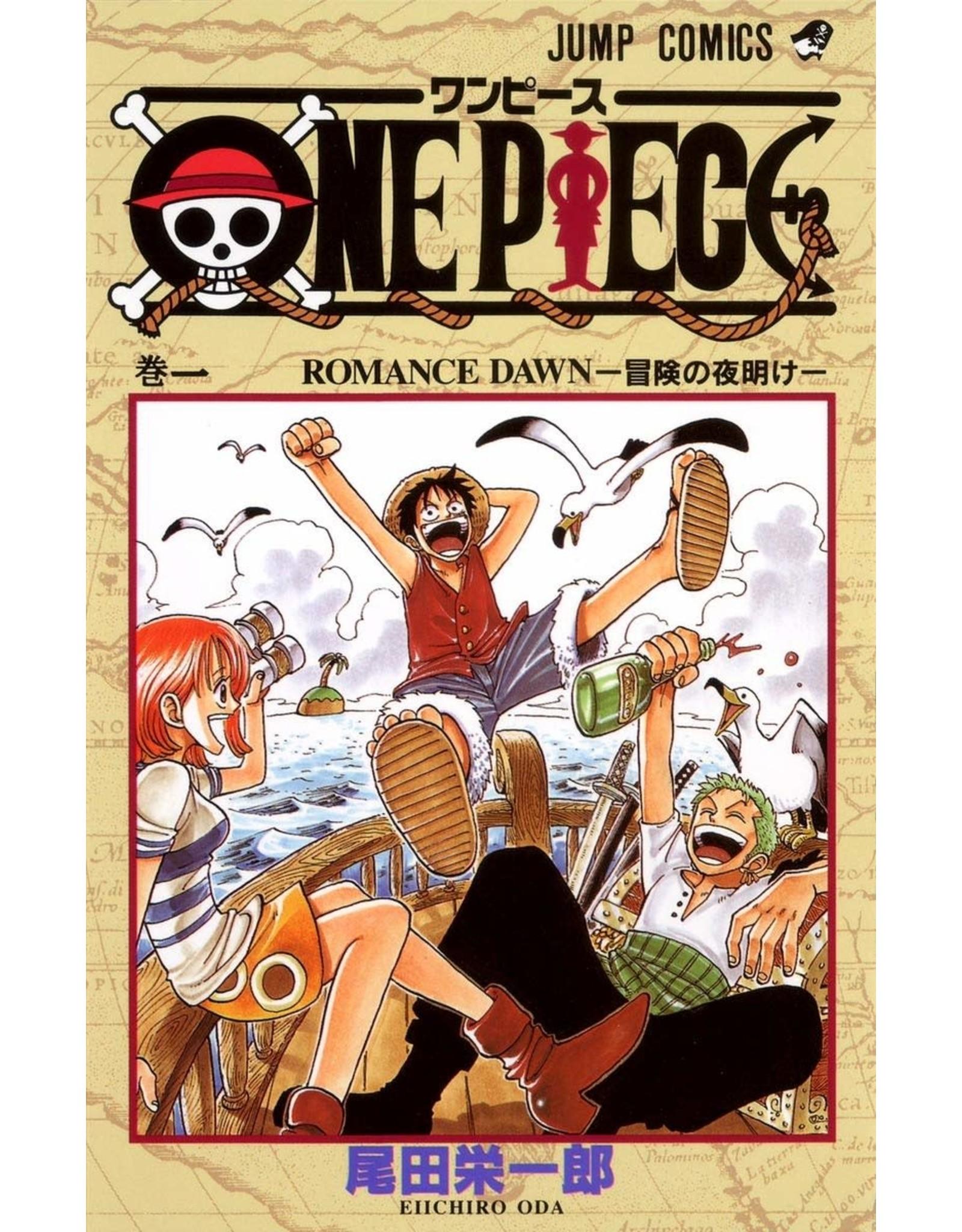 One Piece 01 (Japans) - Manga