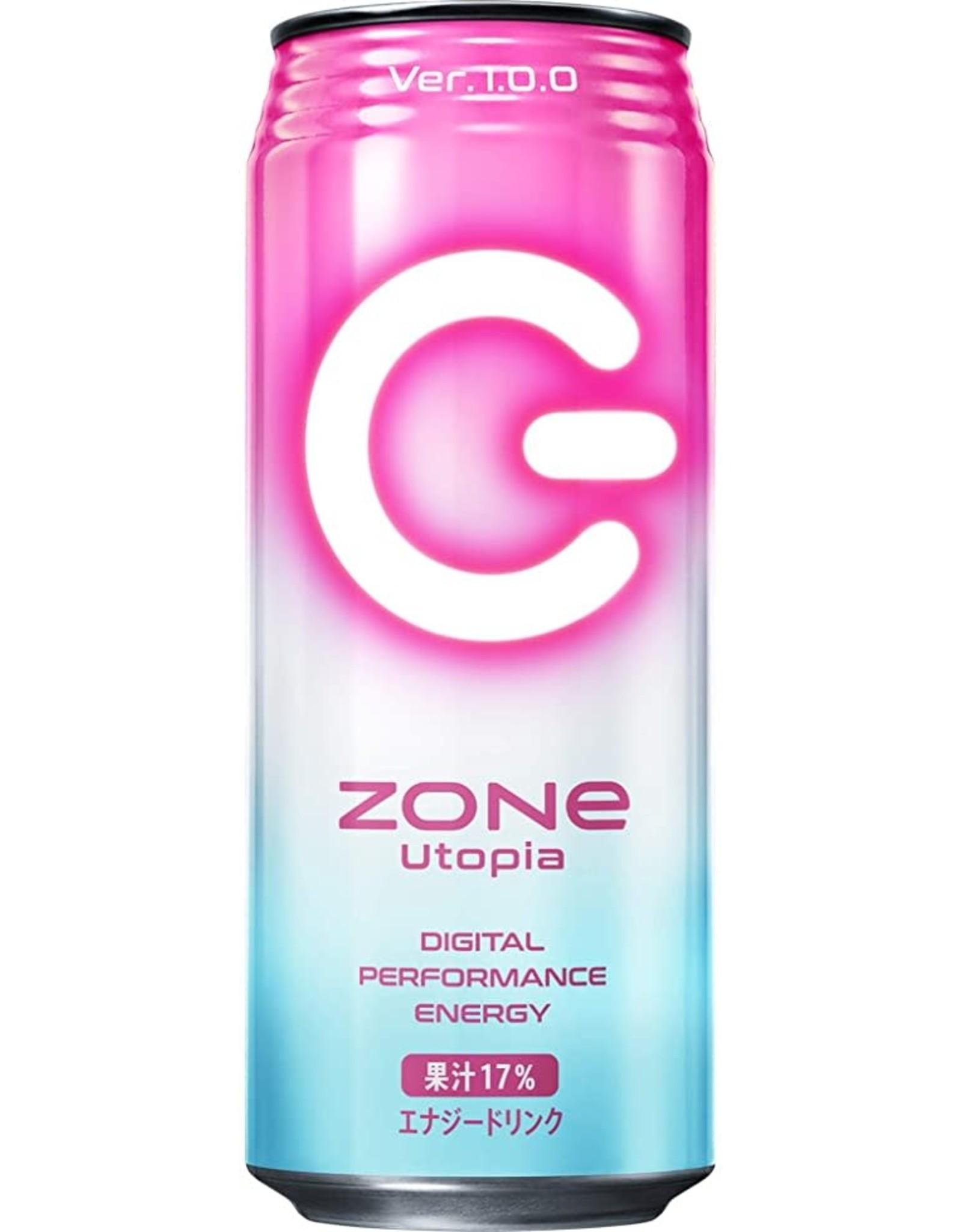Zone Utopia: Digital Performance Energy Drink Ver. 1.0.0. - 500 ml