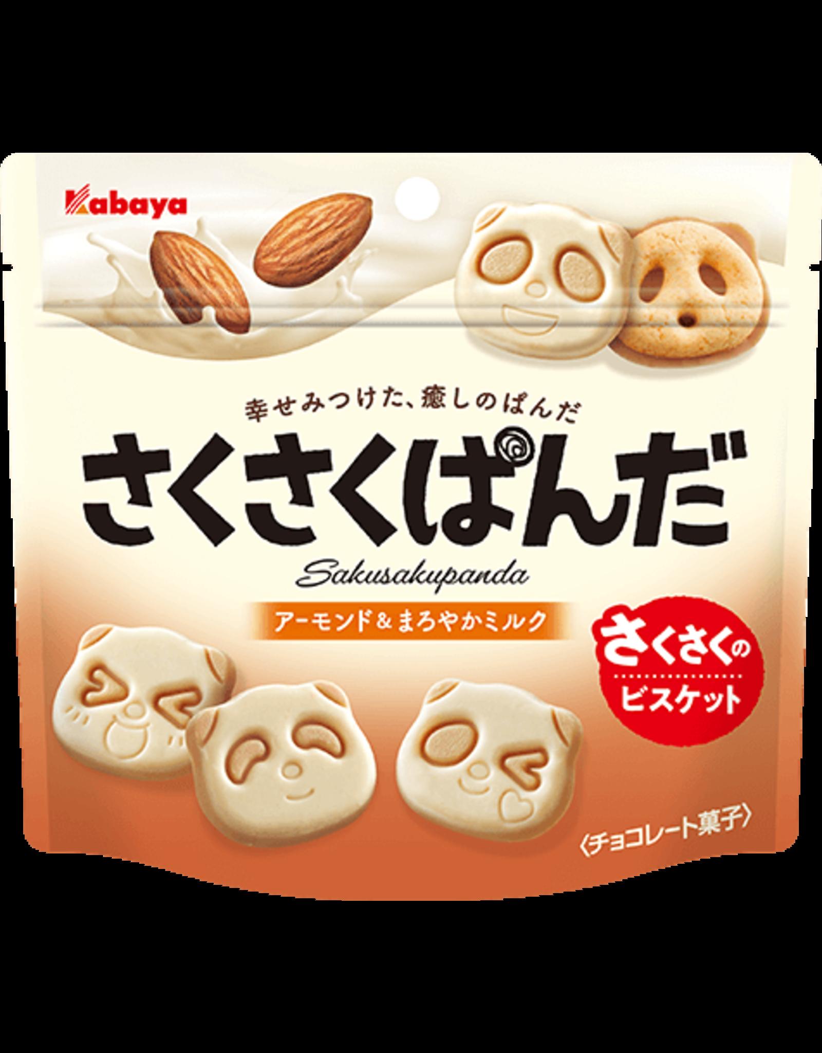Sakusaku panda Almond Milk Cookies - 47g
