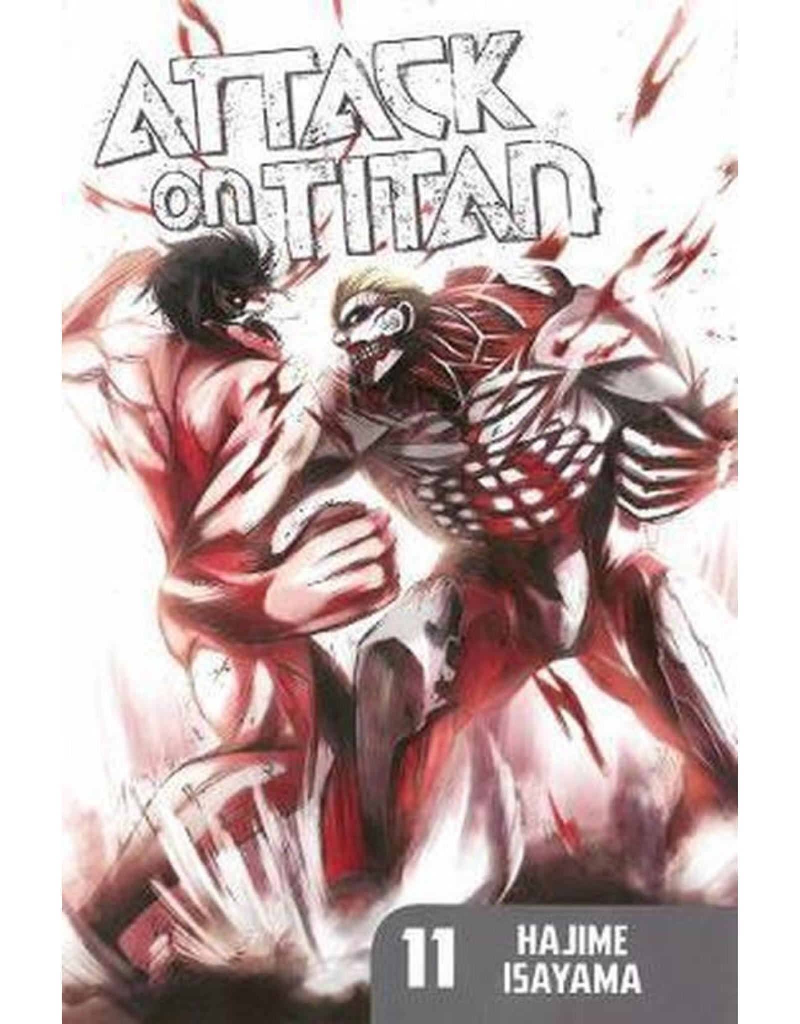 Attack on Titan 11 (Engelstalig) - Manga