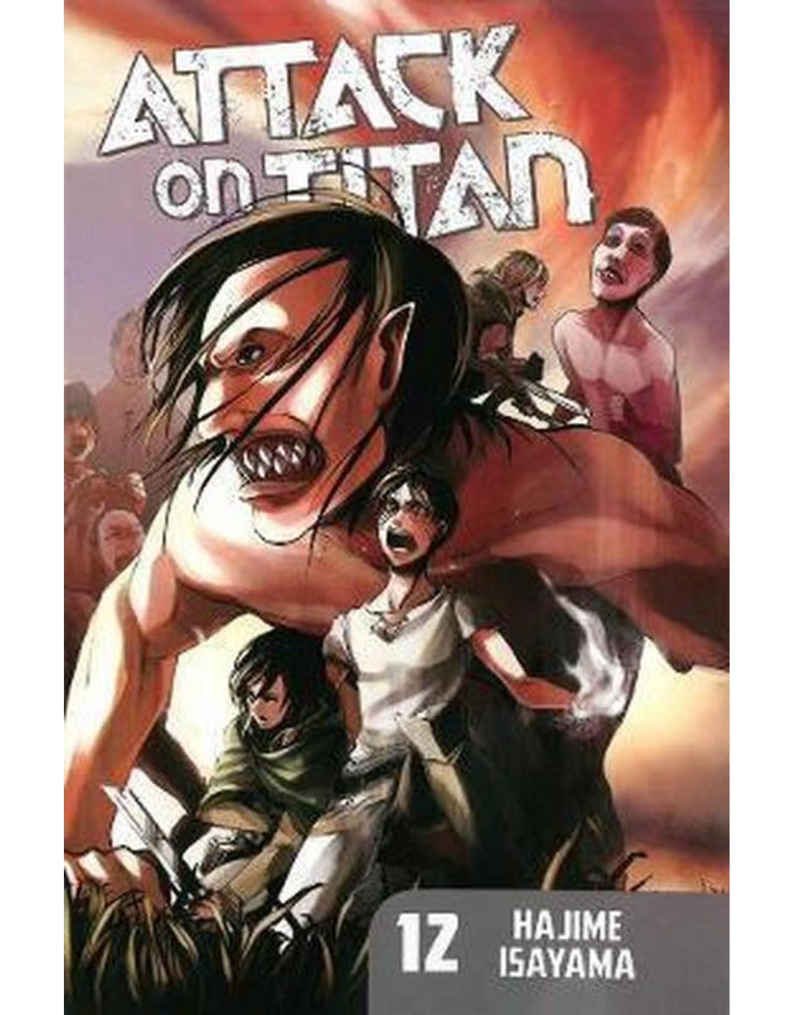 Attack on Titan 12 (Engelstalig) - Manga