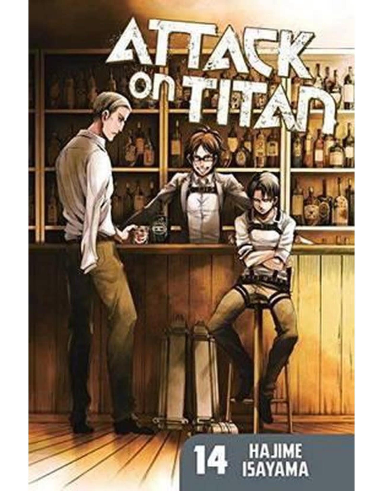 Attack on Titan 14 (English) - Manga