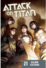 Attack on Titan 21 (Engelstalig) - Manga