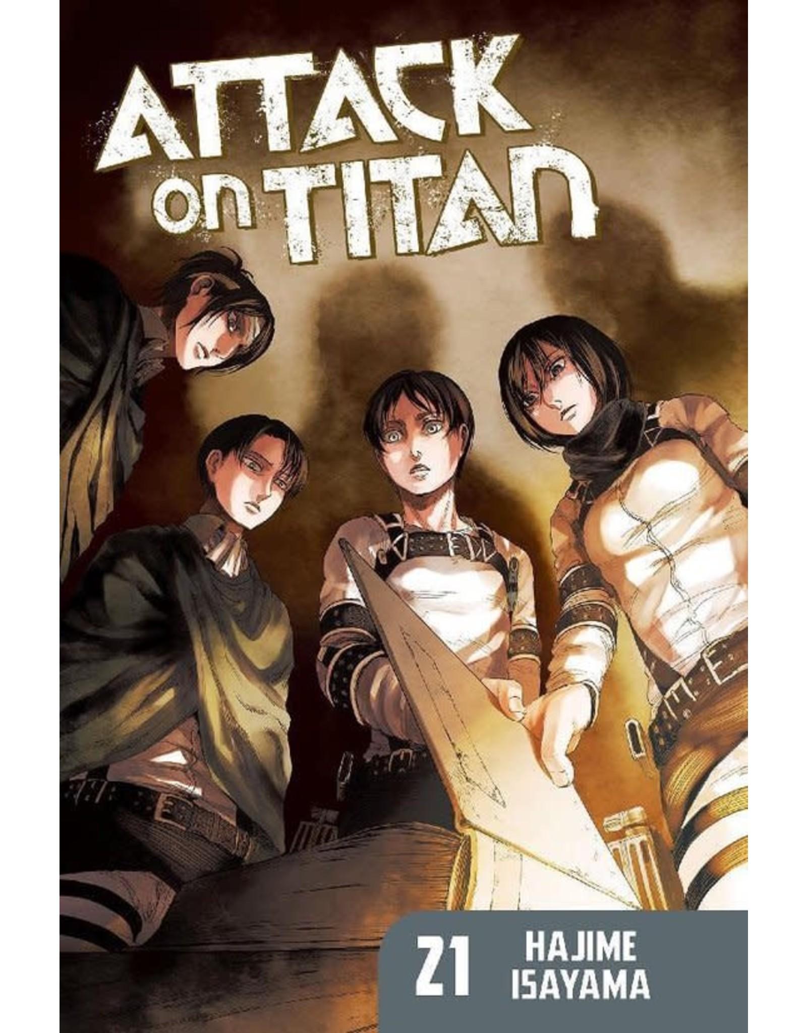 Attack on Titan 21 (English) - Manga