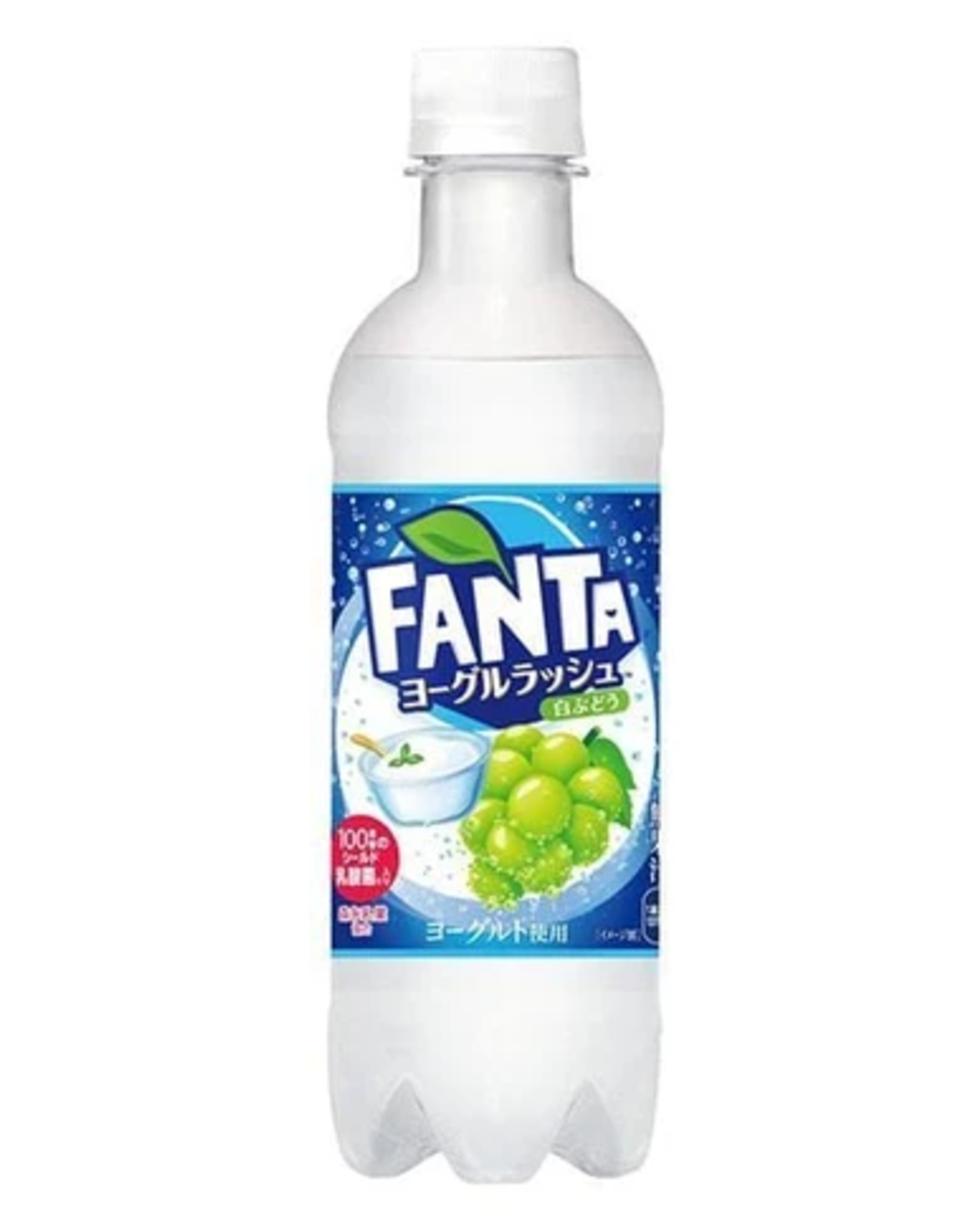 Fanta Yogurt Rush with White Grapes - Japan Exclusive - 380 ml