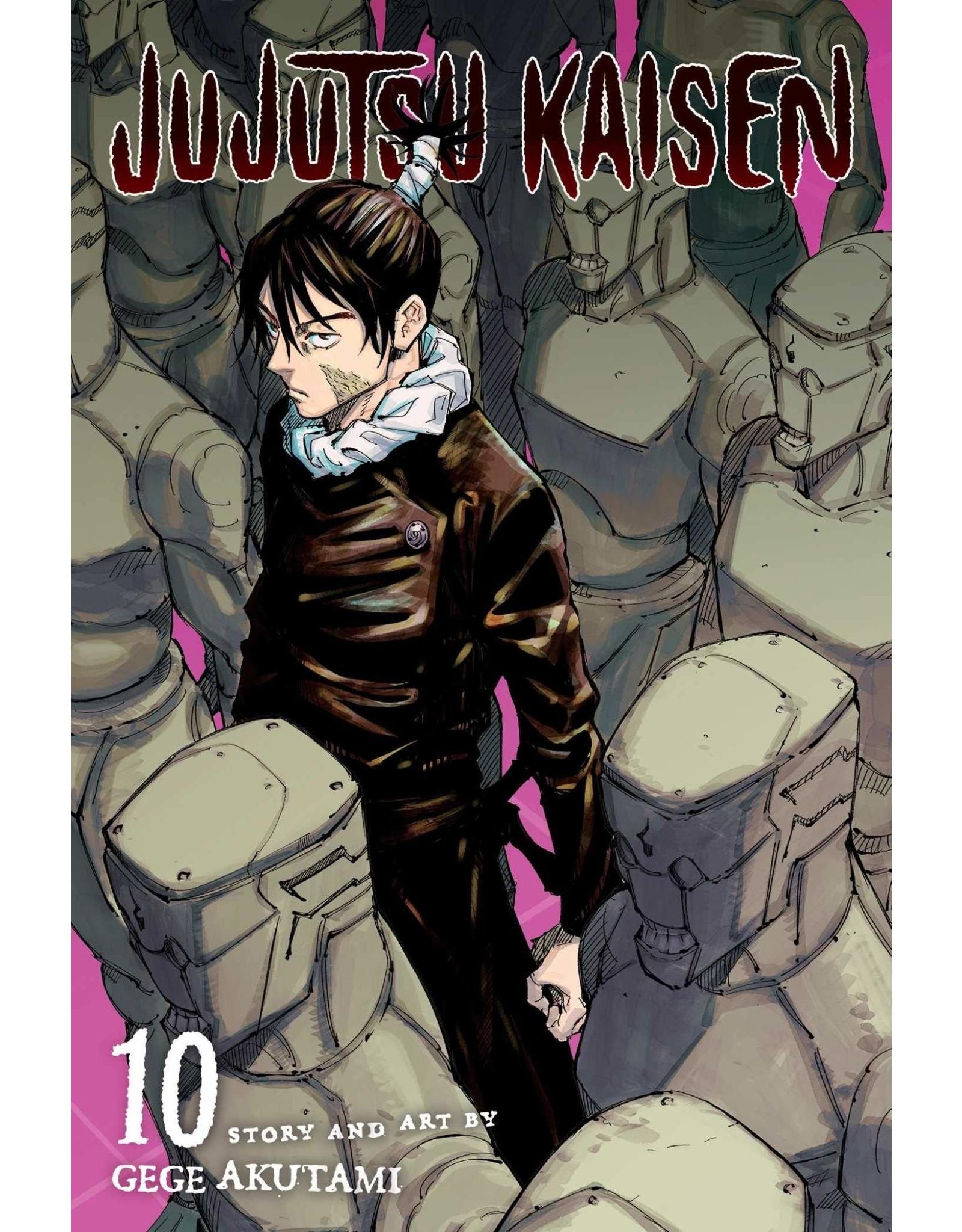 Jujutsu Kaisen 10 (Engelstalig) - Manga