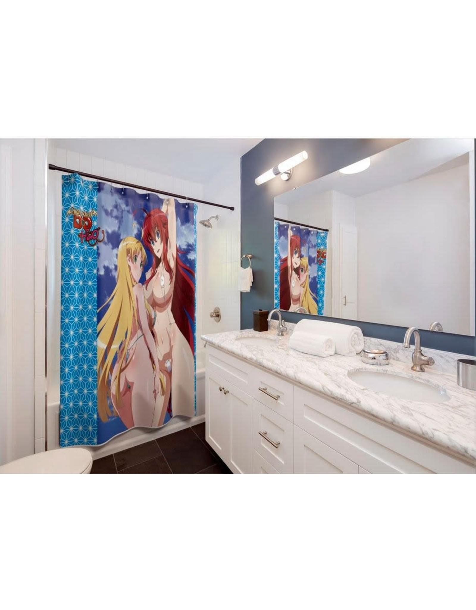 Highschool DxD Hero Shower Curtain - Rias & Asia - 180 x 180 cm