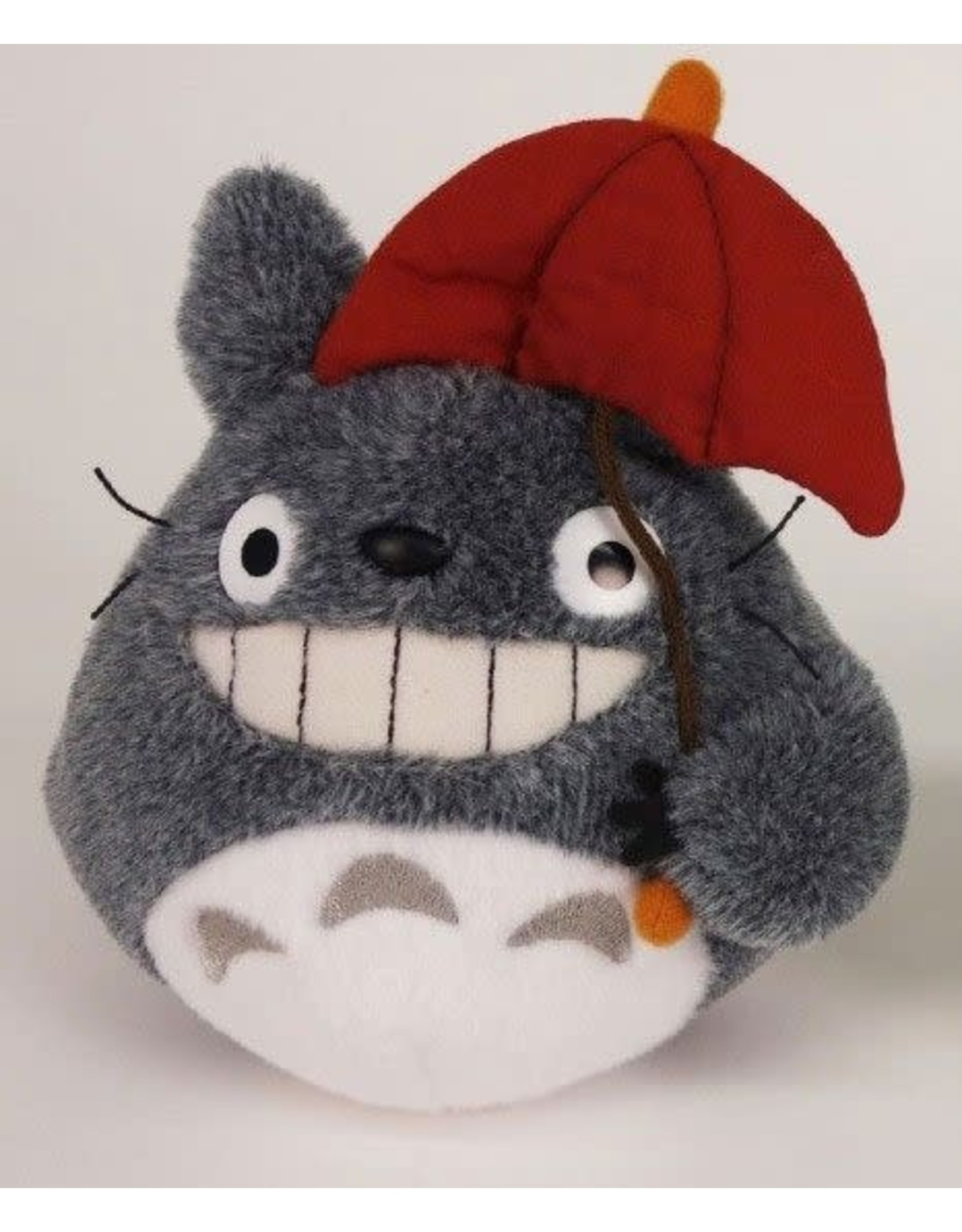 Studio Ghibli Plush - My Neighbor Totoro - Totoro Red Umbrella - 15 cm