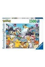 Pokémon Puzzle - Pokémon Classics - Ravensburger - 1500 stukjes