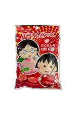 Chibi Maruko-Chan Cherry & Peach Gummy - 40g