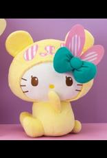 Sanrio Panda Hello Kitty BIG plush - 35 cm - Lemon